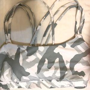 camouflage sports bra